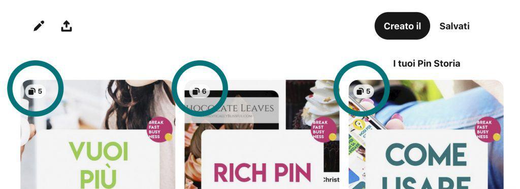 Cosa sono i pin storia e come riconoscerli all'interno di Pinterest